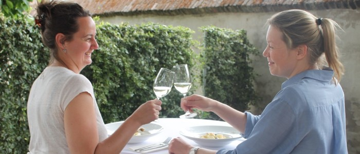 Bregje en Renske etenswaar