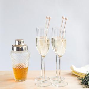 Champagne etenswaar