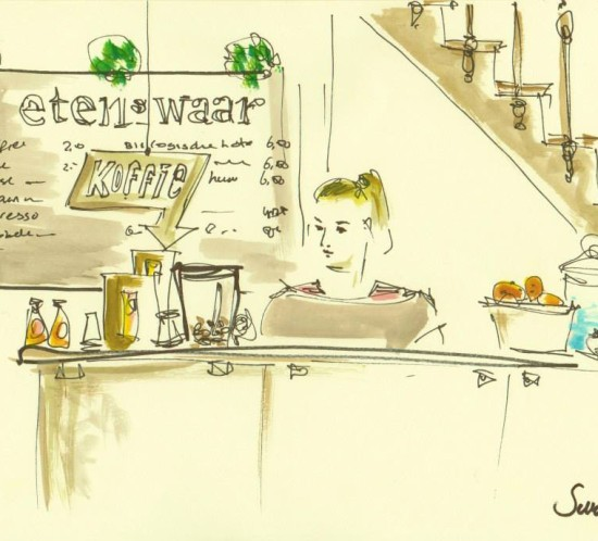 Etenswaar catering Den Bosch pop-up restaurant