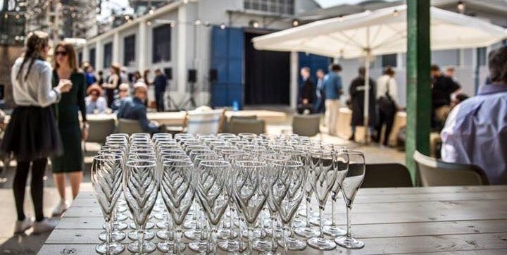 Borrel tijdens de Salone del mobile 2016 Milaan Design Academy