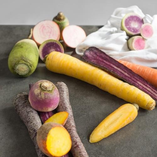 wortels en knollen etenswaar