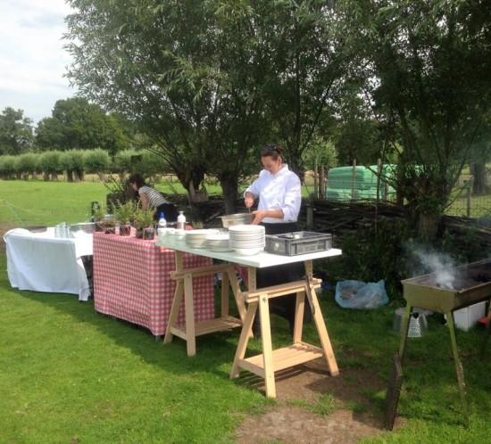 Etenswaar catering op locatie omgeving Tilburg
