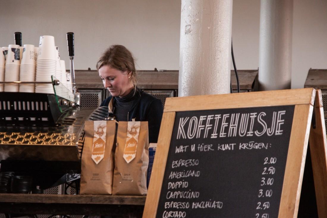 Koffiehuisje en Etenswaar samen op locatie