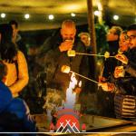 Glow 2017 Zwart Wit Koffie Etenswaar Vuurzicht.Vuur