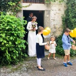 Mooie bruid Ardennen Etenswaar