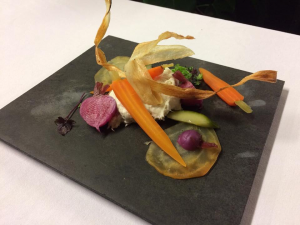 Rilette van kabeljauw met biet en wortel| Etenswaar