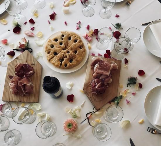 Ham op tafel
