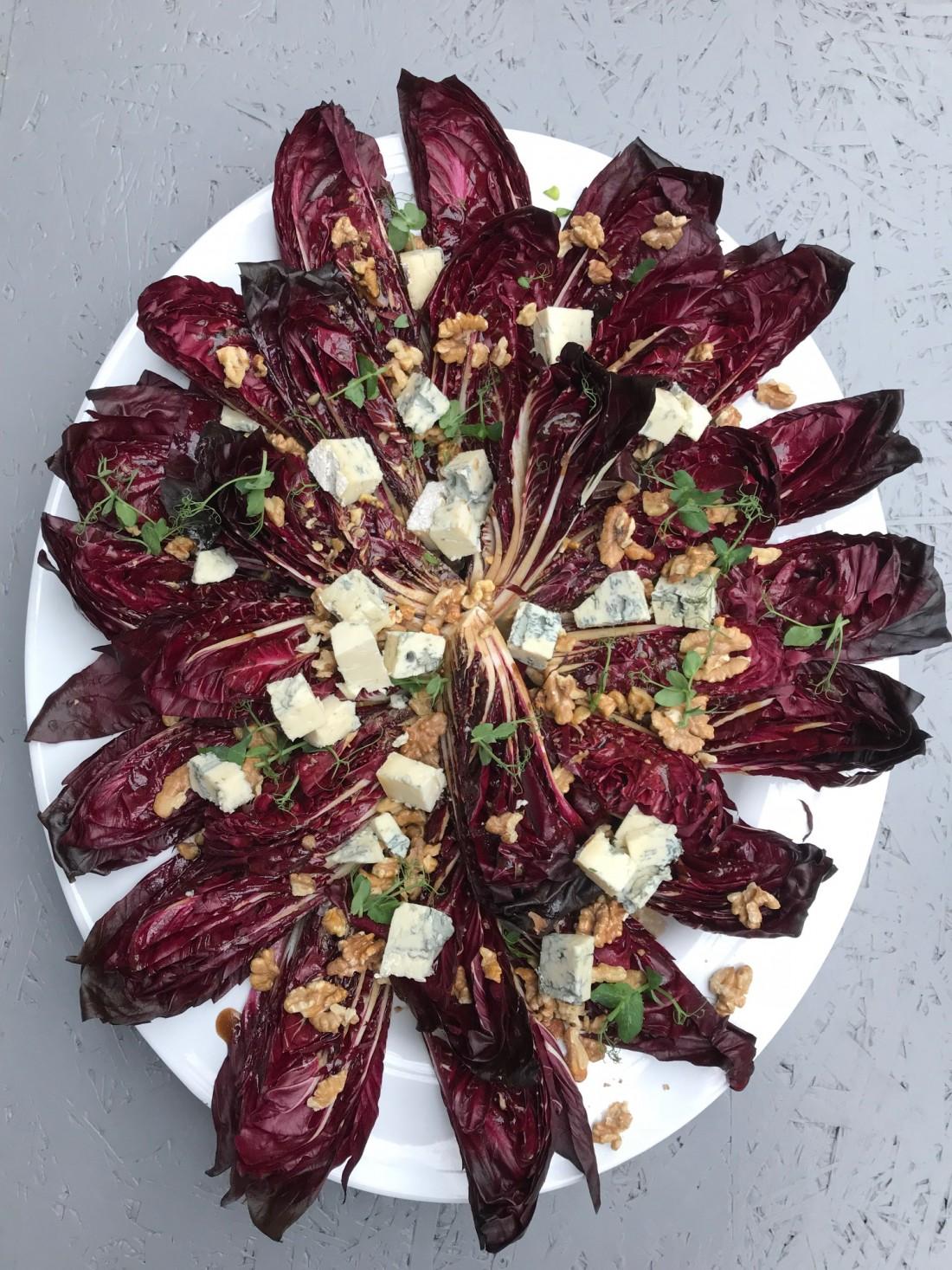 Salade Radicchio Etenswaar