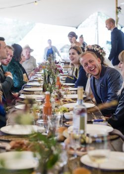Etenswaar catering Eindhoven Diner Bruiloft R&F foto BALF