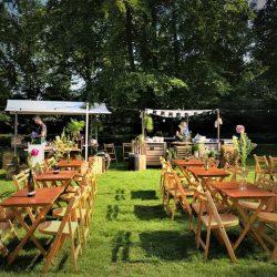 Terras Festival bruiloft Etenswaar Catering Waalre